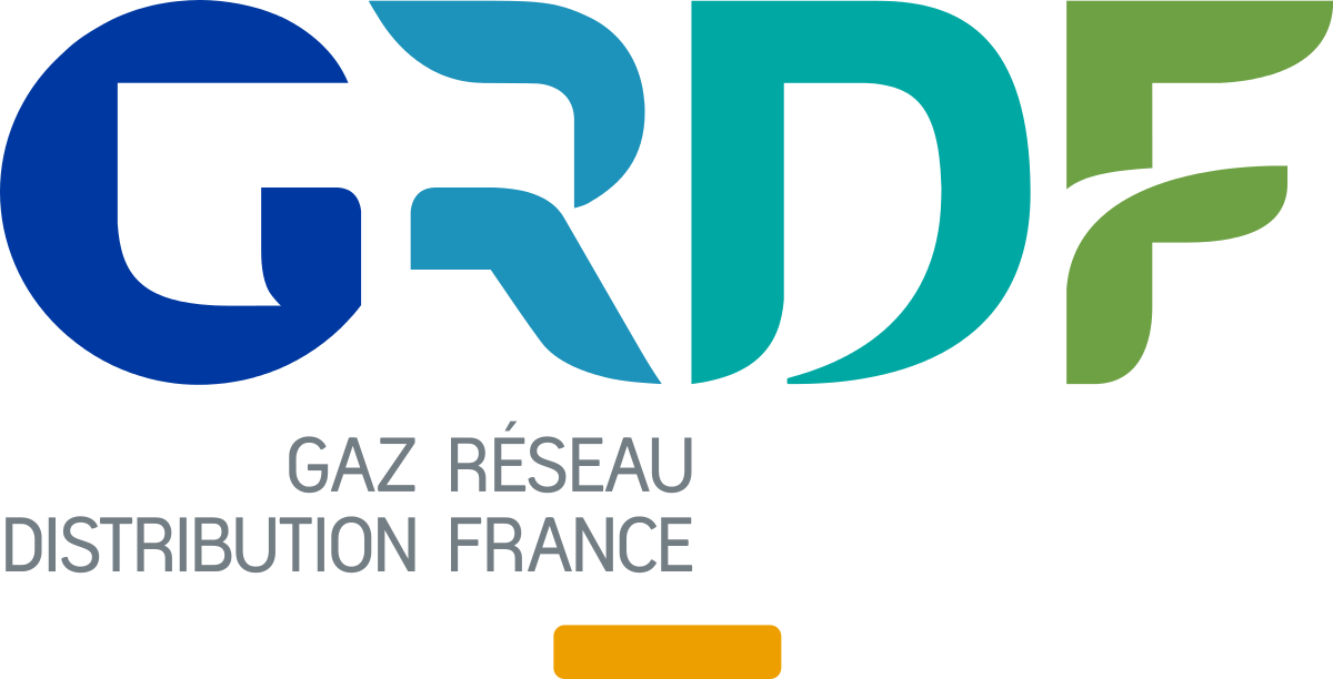 Logo Gaz Reseau Distribution France